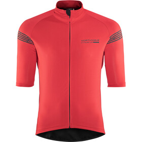 Northwave Extreme H2O Total Protection Shortsleeve Jacket Herre red
